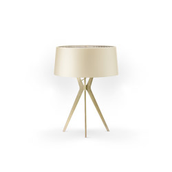 No. 43 Table Lamp Shiny-Matt Collection - Tan Gold - Brass   Table lights   BALADA & CO.