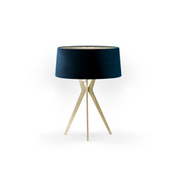 No. 43 Table Lamp Velvet Collection - Notte - Brass | Table lights | BALADA & CO.
