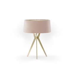 No. 43 Table Lamp Velvet Collection - Rose The ́- Brass | Table lights | BALADA & CO.