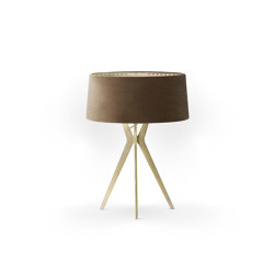 No. 43 Table Lamp Velvet Collection - Dune - Brass | Table lights | BALADA & CO.
