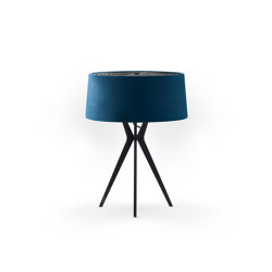 No. 43 Table Lamp Velvet Collection - Indigo - Fenix NTM® | Table lights | BALADA & CO.