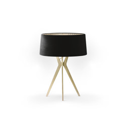 No. 43 Table Lamp Velvet Collection - Nero - Brass | Table lights | BALADA & CO.