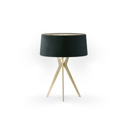 No. 43 Table Lamp Velvet Collection - Cactus - Brass | Table lights | BALADA & CO.