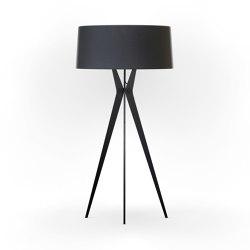 No. 43 Floor Lamp Matt Collection - Deep Black - Fenix NTM® | Free-standing lights | BALADA & CO.