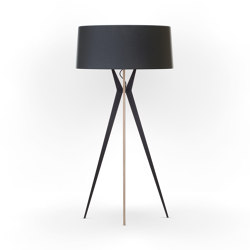 No. 43 Floor Lamp Matt Collection - Deep Black - Multiplex | Free-standing lights | BALADA & CO.