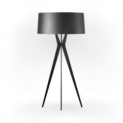 No. 43 Floor Lamp Shiny-Matt Collection - Night Grey - Fenix NTM® | Standleuchten | BALADA & CO.