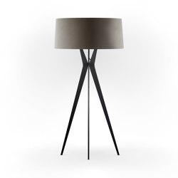No. 43 Floor Lamp Velvet Collection - Smoke - Fenix NTM®   Free-standing lights   BALADA & CO.