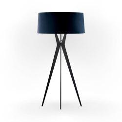 No. 43 Floor Lamp Velvet Collection - Notte - Fenix NTM®   Free-standing lights   BALADA & CO.