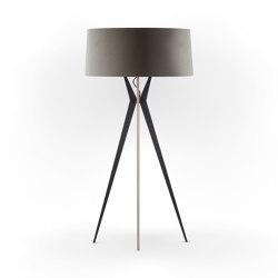 No. 43 Floor Lamp Velvet Collection - Smoke - Multiplex   Free-standing lights   BALADA & CO.