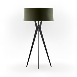 No. 43 Floor Lamp Velvet Collections - Mousse - Fenix NTM®   Free-standing lights   BALADA & CO.