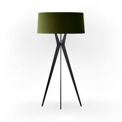 No. 43 Floor Lamp Velvet Collection - Olive - Fenix NTM®   Free-standing lights   BALADA & CO.