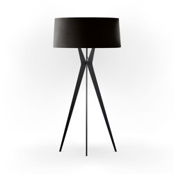 No. 43 Floor Lamp Velvet Collection - Nero - Fenix NTM®   Free-standing lights   BALADA & CO.