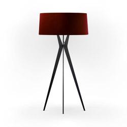 No. 43 Floor Lamp Velvet Collection - Cayenne - Fenix NTM®   Free-standing lights   BALADA & CO.