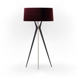 No. 43 Floor Lamp Velvet Collection - Prugna - Multiplex   Free-standing lights   BALADA & CO.