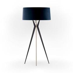 No. 43 Floor Lamp Velvet Collection - Notte - Multiplex   Free-standing lights   BALADA & CO.