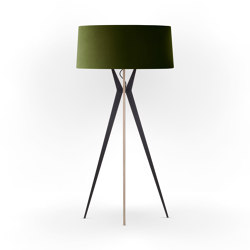 No. 43 Floor Lamp Velvet Collection - Olive - Multiplex   Free-standing lights   BALADA & CO.