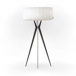 No. 43 Floor Lamp Vintage Collection - Satin White - Multiplex | Standleuchten | BALADA & CO.