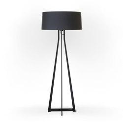 No. 47 Floor Lamp Matt Collection - Deep Black - Fenix NTM®   Free-standing lights   BALADA & CO.