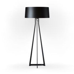 No. 47 Floor Lamp Shiny Matt- Shiny-Black - Fenix NTM® | Free-standing lights | BALADA & CO.