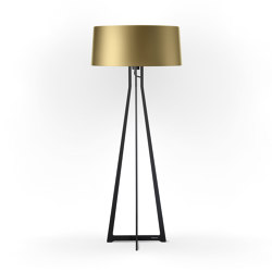 No. 47 Floor Lamp Shiny Matt- Bronze Gold - Fenix NTM® | Free-standing lights | BALADA & CO.