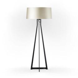 No. 47 Floor Lamp Shiny Matt- Silky Cream - Fenix NTM® | Free-standing lights | BALADA & CO.