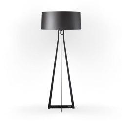 No. 47 Floor Lamp Shiny Matt- Night Grey - Fenix NTM® | Free-standing lights | BALADA & CO.