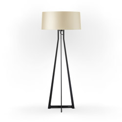No. 47 Floor Lamp Shiny Matt- Tan Gold - Fenix NTM® | Free-standing lights | BALADA & CO.