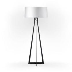 No. 47 Floor Lamp Shiny Matt- Shiny White - Fenix NTM® | Free-standing lights | BALADA & CO.