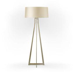 No. 47 Floor Lamp Shiny Matt- Tan Gold - Brass | Free-standing lights | BALADA & CO.