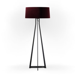 No. 47 Floor Lamp Velvet Collection - Prugna - Fenix NTM® | Free-standing lights | BALADA & CO.