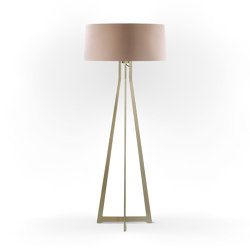 No. 47 Floor Lamp Velvet Collection - Rose The - Brass | Free-standing lights | BALADA & CO.