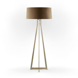 No. 47 Floor Lamp Velvet Collection - Dune - Brass | Free-standing lights | BALADA & CO.