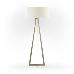 No. 47 Floor Lamp Velvet Collection - Magnolia - Brass | Free-standing lights | BALADA & CO.