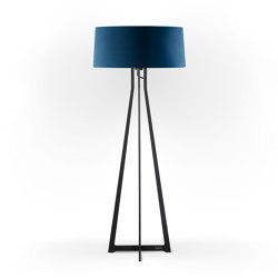 No. 47 Floor Lamp Velvet Collection - Indigo - Fenix NTM® | Free-standing lights | BALADA & CO.
