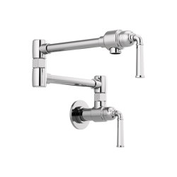 Wall Mount Pot Filler Faucet | Kitchen taps | Brizo