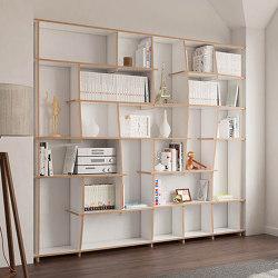 book shelf | Tanea | Estantería | form.bar