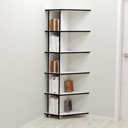 corner shelf | Lino | Estantería | form.bar