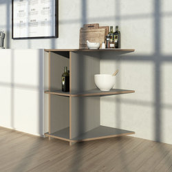 kitchen shelf | Lanea | Kitchen cabinets | form.bar
