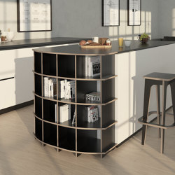 kitchen shelf | Pawon | Kitchen cabinets | form.bar