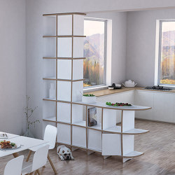 room divider | Cassia | Shelving | form.bar