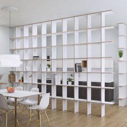 room divider | Strada XL | Shelving | form.bar