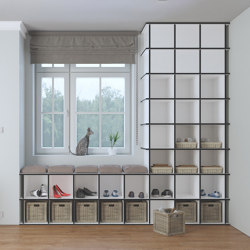 shoe cabinet | Stivali | Shelving | form.bar