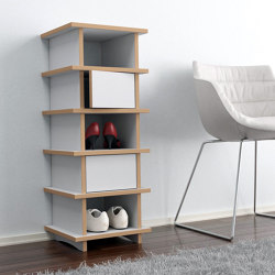 shoe shelf | Glenni | Estantería | form.bar