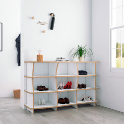 shoe shelf | Sensa | Estantería | form.bar