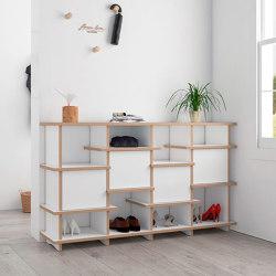 shoe shelf | Vola | Shelving | form.bar