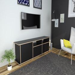 tv cabinet | Iniesta | Buffets multimédia | form.bar