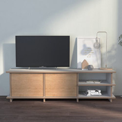 tv cabinet | Ladina | Multimedia sideboards | form.bar