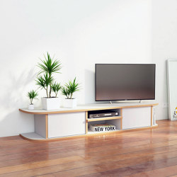 tv lowboard | Daarle | Aparadores multimedia | form.bar
