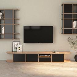 TV-Lowboard | Hugo | Multimedia Sideboards | form.bar