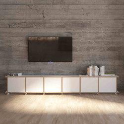 tv lowboard | Longa | Credenze multimediali | form.bar